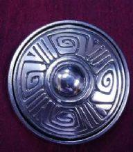 Celtic Boss Design Purse Mirror and Pouch